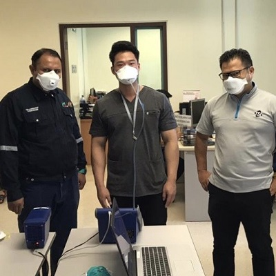 TSI's Channel Partners provide quantitative respirator fit testing to hospital workers