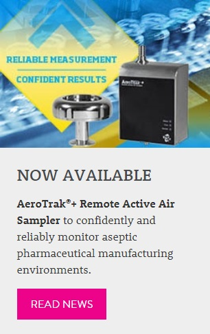 See news—AeroTrak+ Remote Active Air Sampler