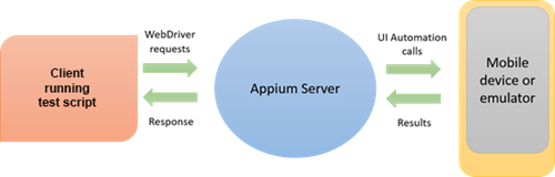 An Appium testing environment; click to enlarge
