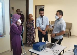 Fit testing in Malaysia with PortaCount Respirator Fit Tester