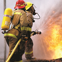 Quantitative respirator fit testing equipment for safer firefighters