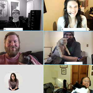 Remote Happy Hour brings the Software Team Together