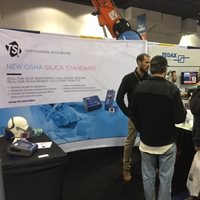 Answer questions about the OSHA silica standard at the Precast Show