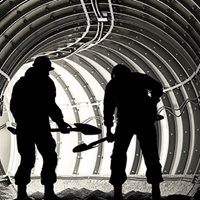 Read Confined Spaces: Airborne dust & particulates accumulate quickly