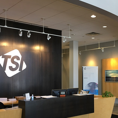 TSI Incorporated lobby in Shoreview, Minnesota