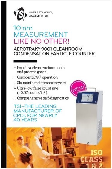 AeroTrak 9001 Cleanroom Condensation Particle Counter