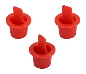 3//8 Diameter TSI 634650002 1000 Piece Duct Plug Set